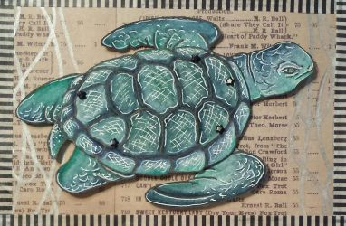 Sea Turtle 04 - Paper Doll by ParadoxSketchbook