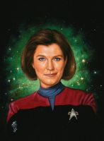 Woman of Star Trek  K. Janeway by Melanarus
