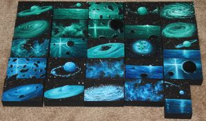 Mini Artomat Spacescapes 751-775 by crazycolleeny