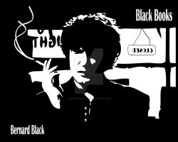 Black books - Bernand Black by dmavromatis
