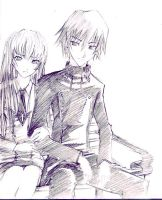 Lelouch and CC by serevasix