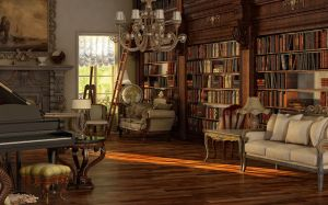 Victorian room by sanfranguy