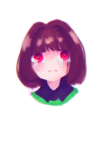[Undertale] Chara by tamchikcute