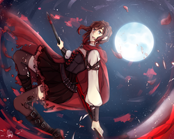 Ruby Rose by Nyannchi