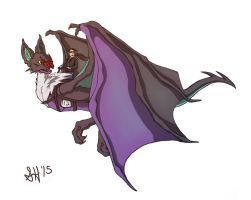 Onwards, Badass Bat Creature! by rockingyourstar