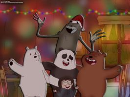 Christmas Time with the Bears by RDJ1995