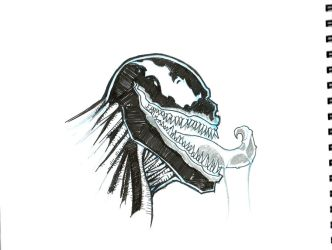 Venom sketch - Otronicon 2011 by Paterack