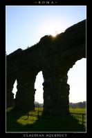 Claudian Aqueduct by Keith-Killer