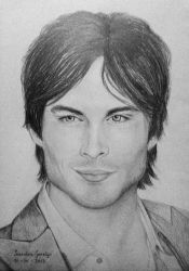Ian Somerhalder by sendee