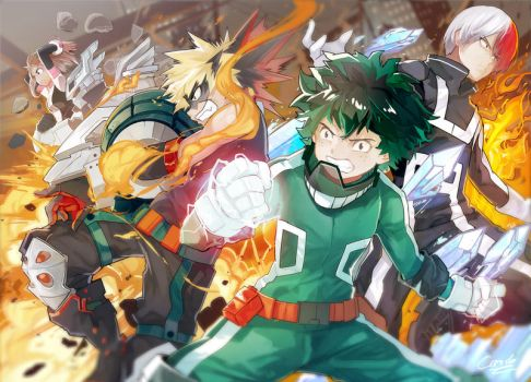 Boku No Hero Academia by Closz