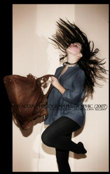 flying with my bag.. by Alexxchen
