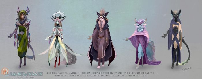 Liquessence - Clerics by EchoesLight