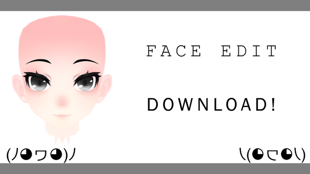 [MMD] TDA Face Edit! +DL by sweet-desiree