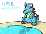 #158 Totodile by SaintsSister47