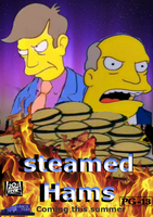 Steamed Hams the movie (poster) by MillArts-Artworks