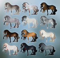 EQUINE ADOPTABLES 2018 - OPEN by Rhiaan