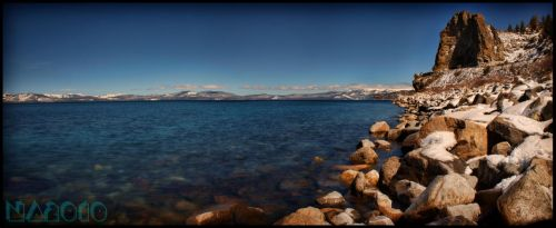 Cave Rock Panorama by burnintree