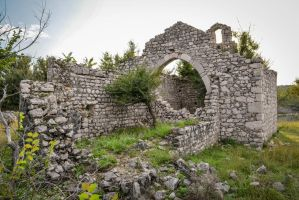 Remnants of the chapel of Saint Peter by darkoantolkovic
