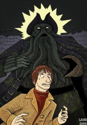 Davy Jones Vs Davy Jones by larsony