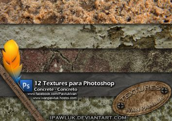 Concrete textures Pawluk by ipawluk