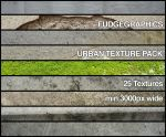 Urban Texture Pack by fudgegraphics