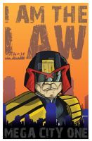 I Am The Law by stourangeau