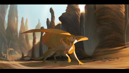 Tides of the Desert by Skaynoodle