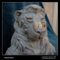 Patrick Bust Sculpture View 2 by Dreamspirit