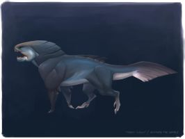 Beneath the Waves_Beast by Keltainen