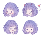 Faces by Chimeeri