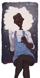 [Midday Coven] Tea in space by Qursidae