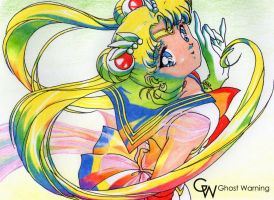 Sailor Moon DRAW by LGhost