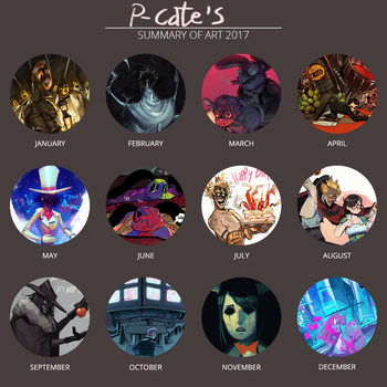 2017 art! by P-cate