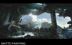 Abandoned Carnival by Concept-Art-House