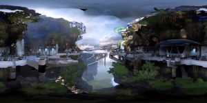Mass Effect Andromeda 360 2D by Usmovers02