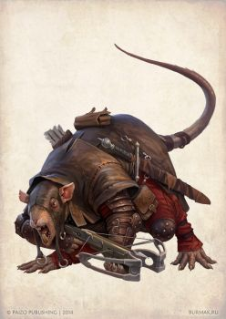 Ratfolk Whiskifiss by DevBurmak