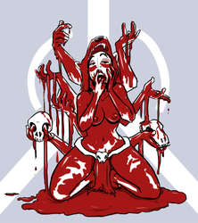 Goddess of Blood by LilayM
