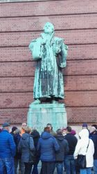 Martin Luther by Kerberusz