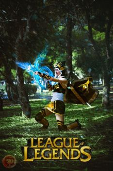 Ashe:  league of legends by Orin10