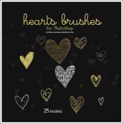 Hearts brushes II by stardixa-resources