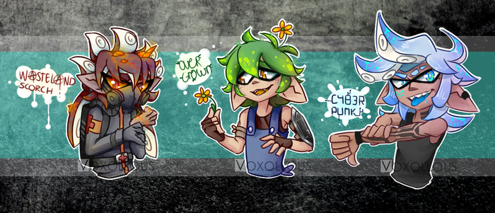 SPLATOON ADOPTS [closed] by Voxollous