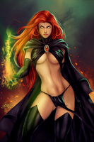 Goblin Queen by Forty-Fathoms