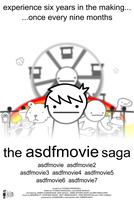 the asdfmovie saga (Fan Poster) by SuperSmash3DS