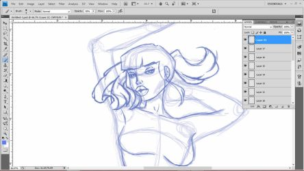 WIP - My First Wacom (Scrap) by Hannahlore