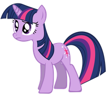 Twilight Sparkle Vector - Unfortunately.. by Anxet