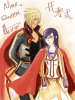 9Q Nine x Queen by assinas