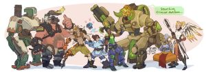 Overwatch-Some favs by MadJesters1