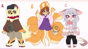 Adopts: Batch 1 (CLOSED) by Lunaris21