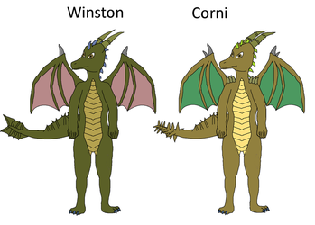 Snake Midwestern dragons by byzance123