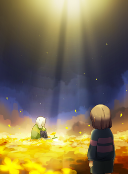 undertale by DustBunnyThumper